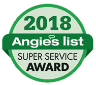 Angies List Super Service Award Winner 2018